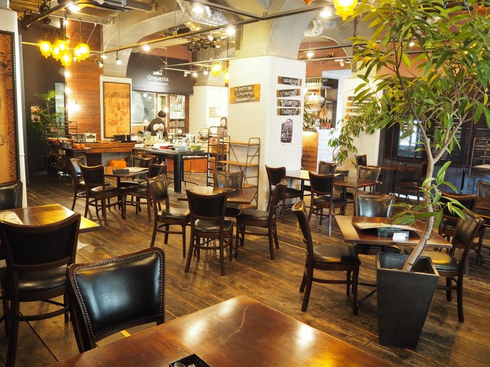 ママ&ベビーに優しい空間作りをスマイルママがお手伝い|大阪なんばの炭火料理&カフェ「Orquesta(オルケスタ)」