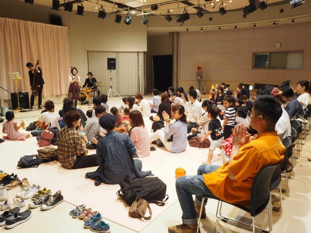 【開催レポ】10/9 第5回『0歳児からの音楽会~おやこで楽しむハロウィンJAZZコンサート』開催しました!